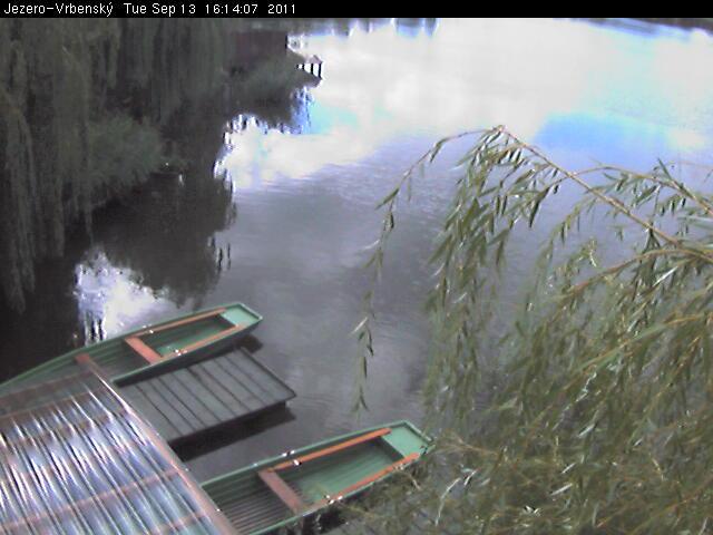Webkamera Most - Vrbenský jezero